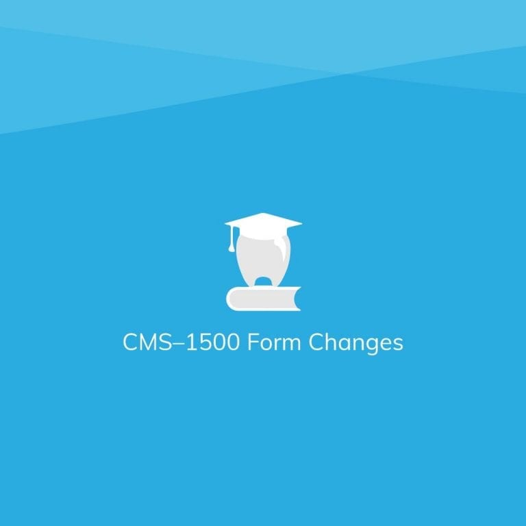 CMS-1500 Claim Form Changes