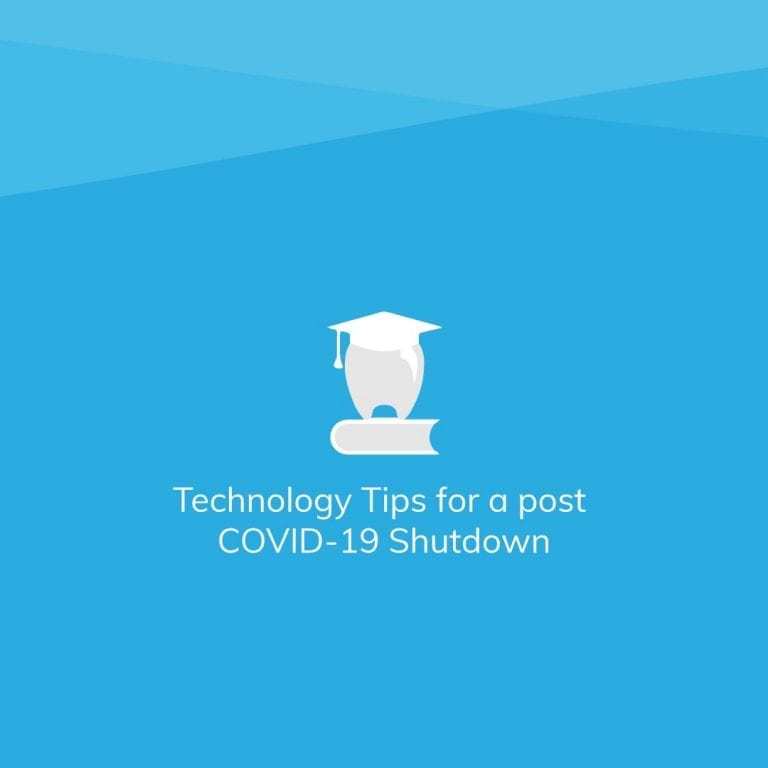 Technology Tips for a Post COVID-19 Shutdown
